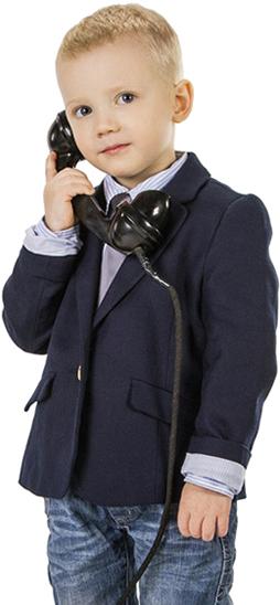 zdjęcie dziecka z telefonem